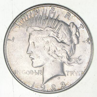 Early - 1923-S - Peace Silver Dollar - 90% US Coin *706