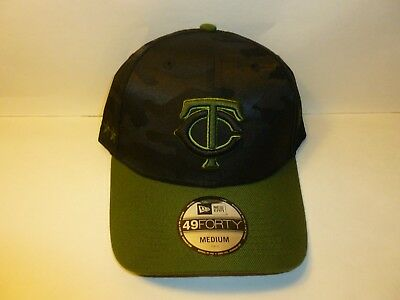 4f394a66e Minnesota Twins New Era MLB 49FORTY Flex-Fit Baseball Cap Hat (MEN'S Medium)