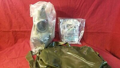 Czech LF-M10 Emergency Survival NBC Gas Mask with Drinking Tube