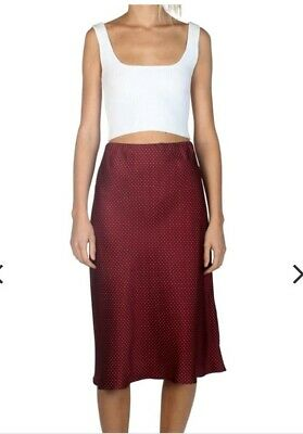 Museum Louise Silk Skirt Size S/M