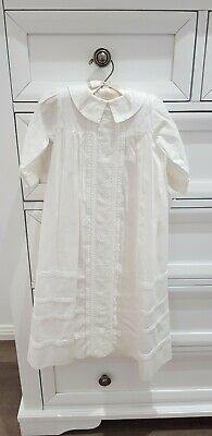 Baby Boy Christening Gown - Rrp $199.95