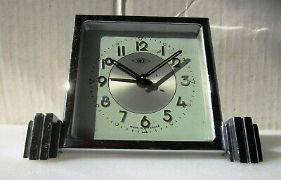 Wonderful Almost As New Vintage Chrome Alarm Clock by DEP