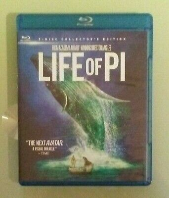 ang lee   THE LIFE OF PI 3D BLU RAY / BLURAY / DVD