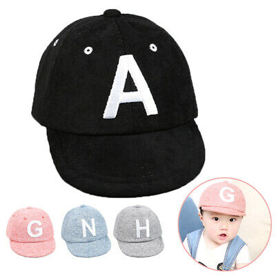 Toddler Kids Baby Boys Girls Baseball Cap Embroidery Cotton Snapback Sun Hat New