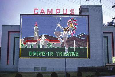 Campus Drive-in Movie Theater San Diego CA California 1979 View 8x12 photo