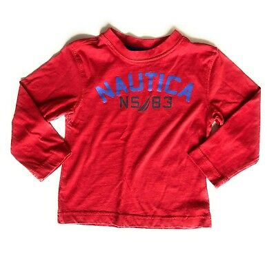 Nautica Boys Long Sleeve Tee Size 3T