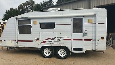 2004 Supreme Territory Caravan Off Road With Sep Shower + Toilet *SEE VIDEO*