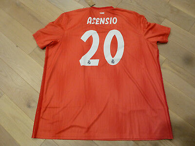 702de062a40 NWT Adidas 18 19 Real Madrid  20 Asensio Pink Champions League Parley  Jersey 3XL
