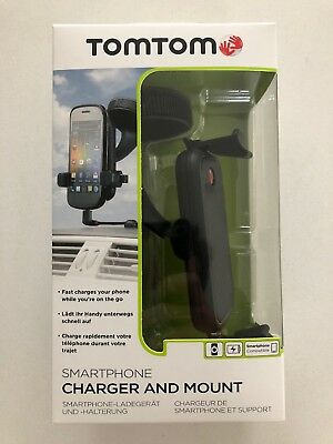 TomTom Universal In-Car Smart Phone Holder / Charger with Micro-USB Connection
