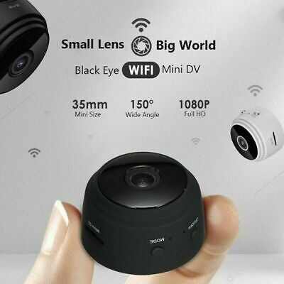 Mini Spy Camera Wireless 1080P DVR Wifi IP Home Security HD Night Vision Remote