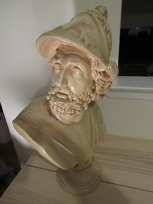Bust of Ajax the Great, Classical Sculpture. Art, Large 24""