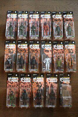 Medicom Toy UDF Planet of the Apes 17 pcs Cornelius Zira etc Ultra Detail Figure