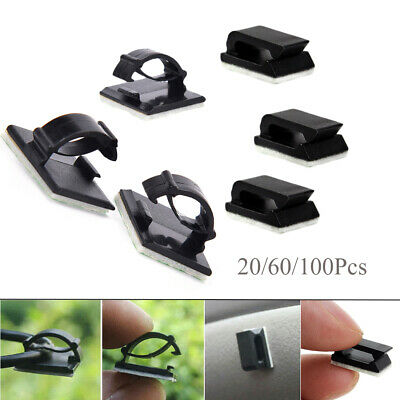 Self-adhesive Fastener Cable Clip Wire Management Buckle Line Fixer Holder
