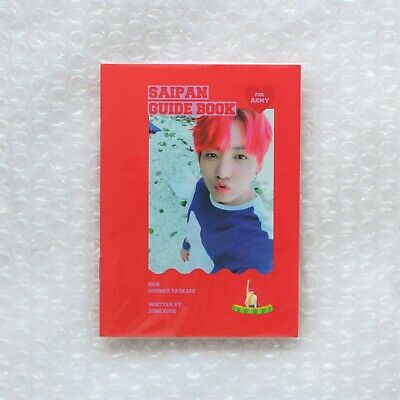 BTS Official 2018 Summer Package Saipan JUNGKOOK Guide Book