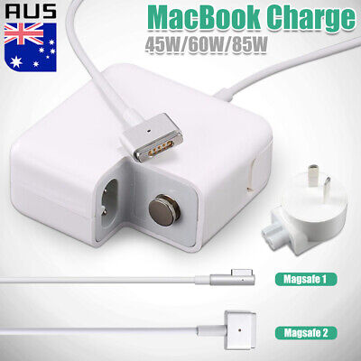 45/60/85W AC MagSafe1 2  T/L-Tip Power Adapter Charger For Apple MacBook Air Pro