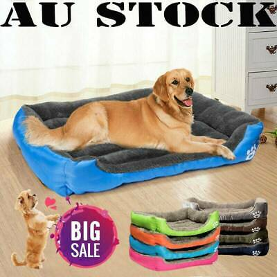 Pet Dog & Cat Mattress Bed Extra Large Soft Warm Washable Padding Mat S ~ XXXL