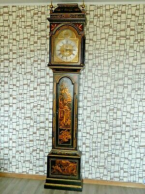 Antique Grandfather Clock by Devereux Bowly - London 1730