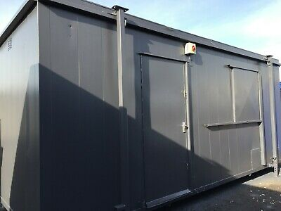 20x8ft Site Office / Anti Vandal / Site Cabin / Portable Building / Jack Leg