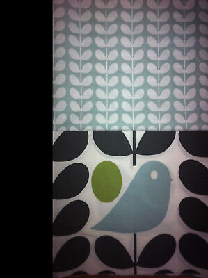 ORLA KIELY TINY STEM DUCK EGG ALL SIZES 25CM 50CM 100CM 200CM 250CM New Fabric