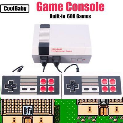620 Games in 1 Classic Retro TV Gamepads Mini Game Console with 2 S5DY 01