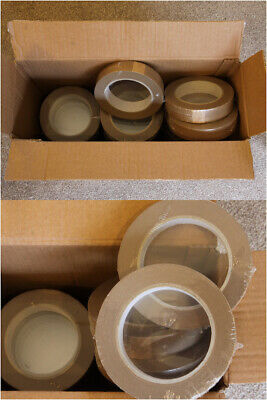 10 ROLLS Brown BT25 Masking Tape - Picture Framing etc. 25mm Wide X 50m Long