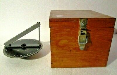 CASSENS & PLATH Marine DRY Compass with BOX - BRASS - Made in GERMANY (1453)