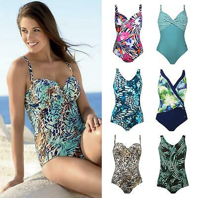 Naturana Control Swimsuits Sizes 8 to 50 Womens