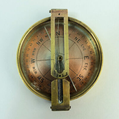 JOHN PARDY DURBAN ANTIQUE BRASS COMPASS EARLY 19th CENTURY