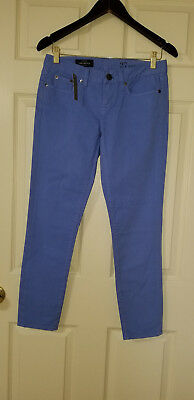 NWT J. Crew Toothpick Skinny Cropped Ankle Pants Jeans Light Blue Pastel Sz.27