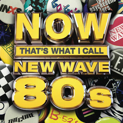 Various Artists - Now That's What I Call New Wave 80s [New CD]