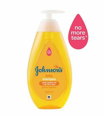 Johnson's Baby No More Tears Baby Shampoo impact on the protective layer, 500 ml