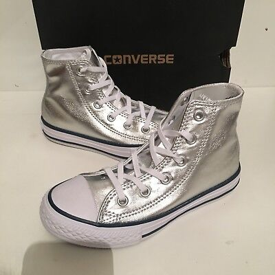 CONVERSE ALL STAR Shoes N 27 PIZZO WHITE Taylor New JUNIOR