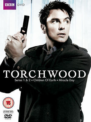 Torchwood The Complete Collection Dvd Box Set Series Seasons 1-4