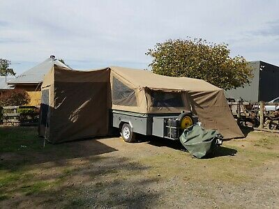 CAMPER TRAILER - Australian Made - kitchen, awning, attachable extra room, etc