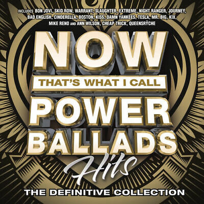 Various Artists - Now That's What I Call Power Ballads [New & Sealed] CD