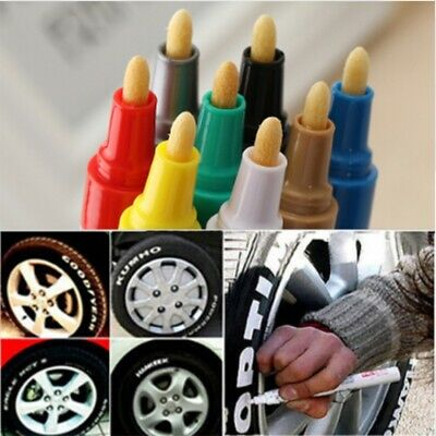 Universal Waterproof Permanent Motor Car Tyre Tread Paint Marker Pen Tool #