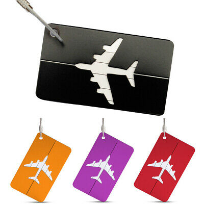 Quality Travel Luggage Tag Label Holder Suitcase Name ID Address Tags