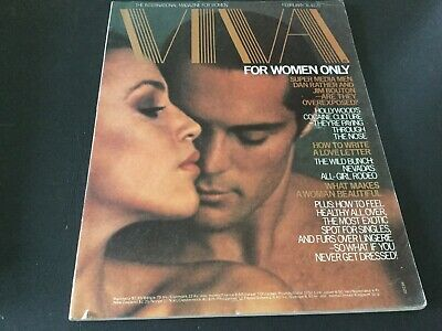 Viva For Women Vintage Magazine Feb 1976 Gay And Lesbian Interest