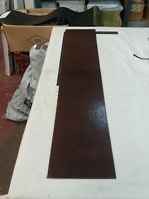 Chestnut Leather HIDE panel 2.9mm thick REENACTMENTS CRAFTS  lot 56