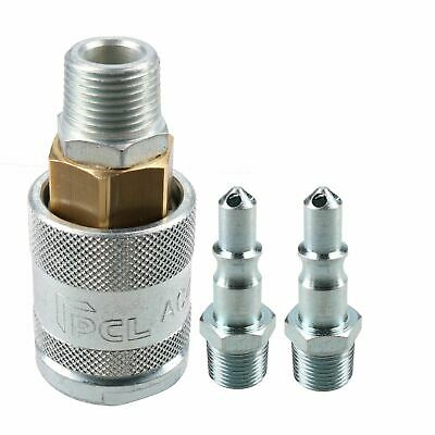 "PCL 60 Series Female Coupler 3/8"" BSP Male Thread & Male Adaptor Air Fittings"