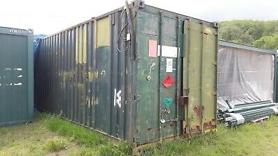 40ft Storage Shipping Container, Workshop