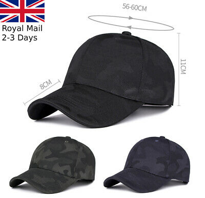 Quality Camouflage Outdoor Baseball Cap Unisex Adjustable Running Golf Sport Hat