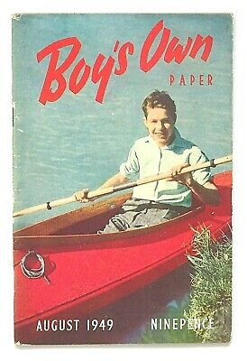 BOY'S OWN PAPER..70th BIRTHDAY ISSUE !! AUGUST 1949 - 70th BIRTHDAY GIFT !! FINE