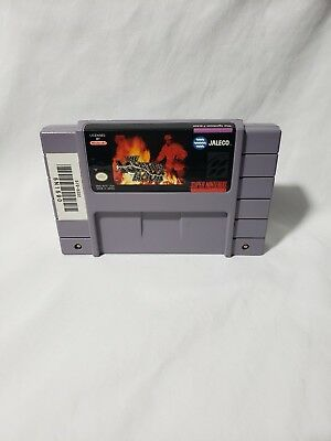Ignition Factor Super Nintendo SNES VIDEO GAME CART AUTHENTIC NICE