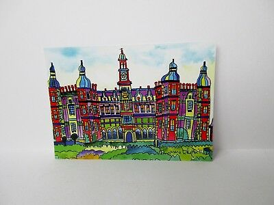 POSTCARD 6 X 4  ST ALBANS ABBEY VIEW BY ANN MARIE WHITTON