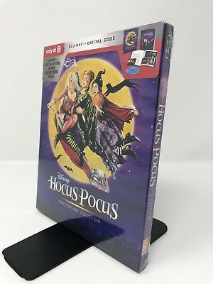Hocus Pocus: 25th Anniversary Edition (Target Exclusive) (Blu-Ray + Digital) New