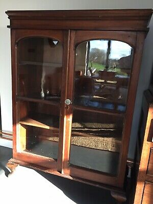 Victorian Glass Fronted Bookcase