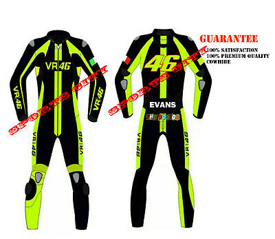 Rossi Racing Motorbike Leather Suits/Jacket 46 suit 2019