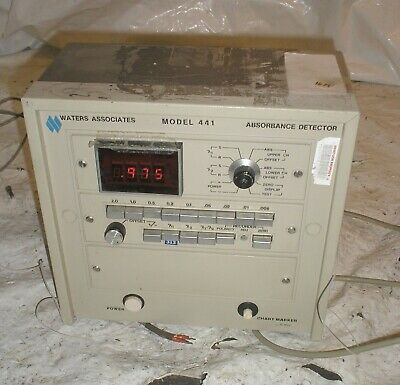 Waters Associate 441 Lab Benchtop Absorbance Detector