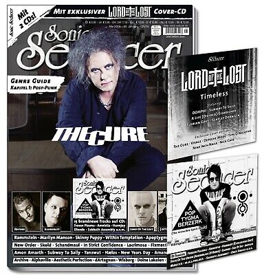 Sonic Seducer 05-2019 mit The Cure-Titelstory + LOTL-Cover-EP + weitere CD